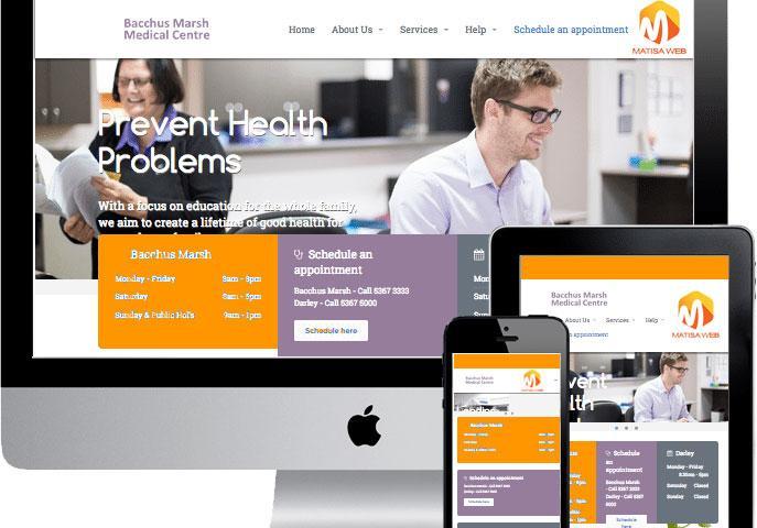 طراحی سایت پزشکی - ماتیسا وب